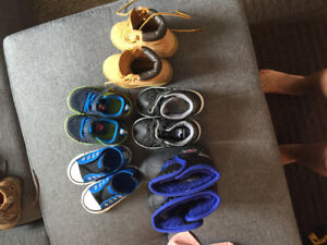 Toddler Boys' Size 5 Shoes (5 pairs)