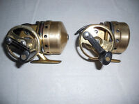 2 moulinets pour canne Peche, Diawa Japan, Fishing reels rods
