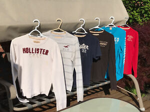 Hollister young men's clothing