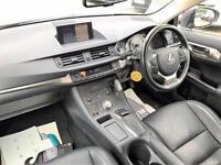 2014 Lexus CT 1.8 Luxury CVT 5dr PETROL/ELECTRIC grey CVT