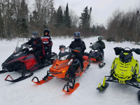 Snowmobiles rental and tours