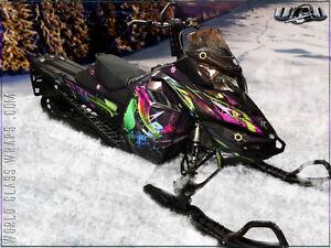 Custom Designed Snowmobile Graphics & Sled Wraps Stratford Kitchener Area image 1