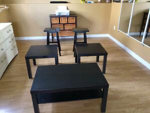 Coffee table /bar stools