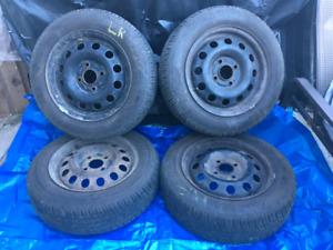 "Set of 14"" All Season Tires on 4x108mm Rims!"