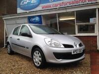 2007 07 Renault Clio 1.5 dCi Expression TURBO DIESEL FINANCE AVAILABLE
