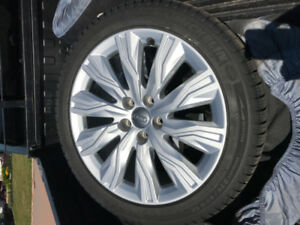 2017 Audi A4 Alloy Wheels and Michelin X-ice Winter Tires bags