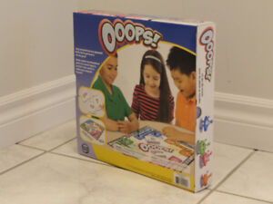 NEW!   OOOPS! THE FUN FAMILY RACE GAME