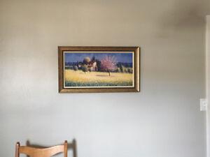 Cadre décoratif Provence, Toscane