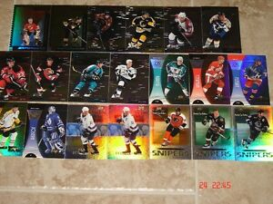 Cartes de hockey MVP 99-2000 – Stanley Cup Edition, inserts!