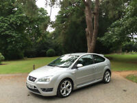 2006/56 Ford Focus 2.5 ST-2 225 Turbo 3 Door Hatchback Silver