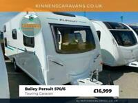 Bailey Persuit 570/6 6 Berth 2018 Touring Caravan Fixed Bunk Beds - Motor Mover