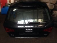 Audi A3 8v s-line sportback 2012-2016 complete boot lid with LED lights & spoiler