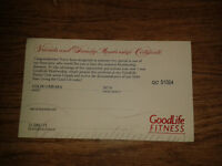 $249 Goodlife Voucher for $150