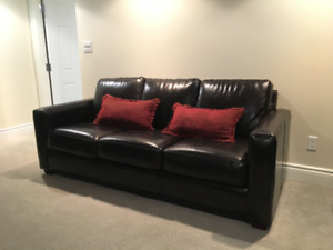 The Chesterfield Shop Leather Sofa