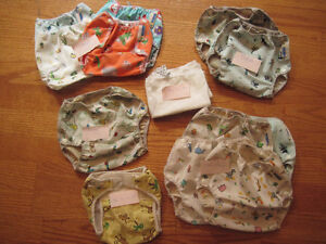 Used - beloved - cloth diapers and covers Kitchener / Waterloo Kitchener Area image 1
