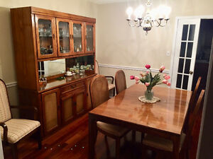 Kaufman Dining Room 8pc. Set -Made in Canada Apartment Size