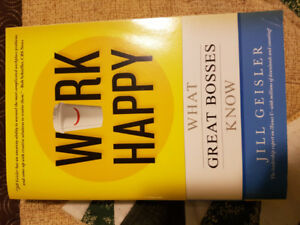 Work Happy - What Great Bosses Know by Jill Geisler