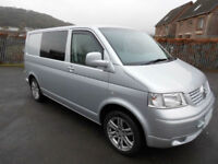 2008 VW T5 Transporter T28 2 Berth 102 TDi SWB Campervan