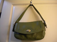 DANIER KHAKI ARMY GREEN PEBBLE LEATHER PURSE NEW-NEVER USED!!!