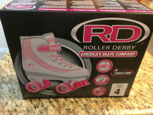 Roller Derby Roller Skates. Brand New in package. Girls Size 4 .