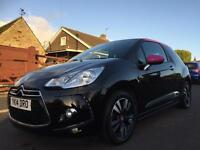 2014 14 CITROEN DS3 1.6 e-HDI AIRDREAM DSTYLE PINK 3DR