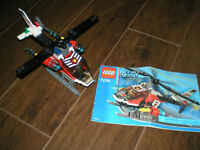 LEGO City Fire Helicopter (7238) helicoptere pompier