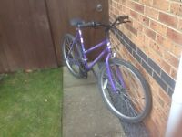 Ladies bike 15 gears 26 inch wheels