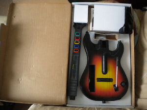 Wii World Tour Guitar and Game