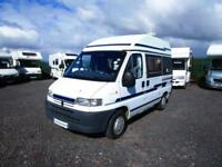 Holdsworth Minuet two berth campervan with end kitchen for sale