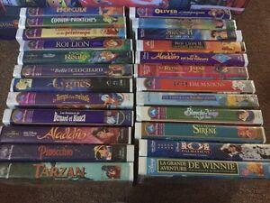 LOT DE VHS DISNEY
