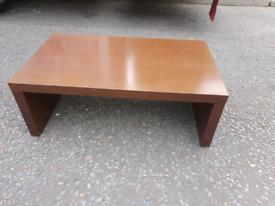55. Solid oak coffee table