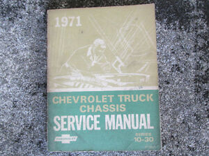 CHEVY  TRUCK CHASSIS MANUAL