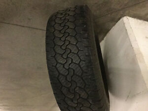 New Truck rim with slightly used tire
