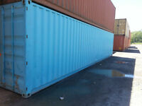 Conteneurs 40' bon marcher - 40' containers, well priced