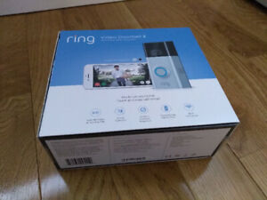 New in box Ring 2 video doorbell (never installed)