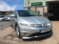 Honda Civic 2.2i-CDTi 2009 09 Type S GT