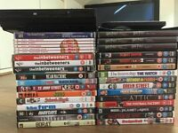 DVD player with many movies (all original dvds)