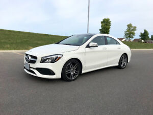2018 Mercedes-Benz CLA 250 Sedan (cheap lease takeover)