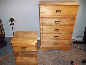 Youths solid birch bedroom set