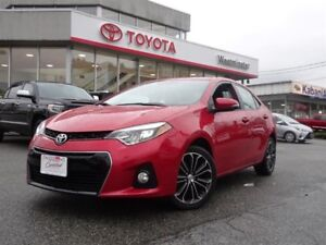 Toyota Corolla S Technology Package 2014