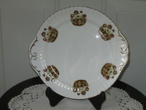 .A Lovely OLD 10-INCH SERVING PLATE..[HANDLED]...