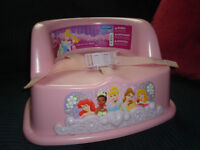DISNEY Princess BOOSTER SEAT in Excellent Condition