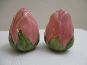 Vintage Franciscan Desert Rose Salt and Pepper Shakers