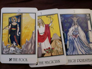 The Servants of the Light Tarot Cards and Book