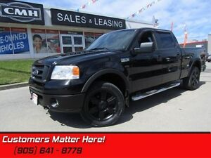 2007 Ford F-150 FX4  4X4, LEATHER, POWER SEAT, CONSOLE SHIFTER!