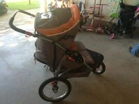 Expedition Jogging Double Stroller