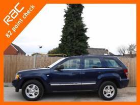2008 Jeep Grand Cherokee 3.0 CRD Turbo Diesel Limited Ltd 4x4 4WD Auto Full Leat