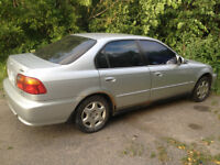 Honda Civic EX (Safety & E-tested)