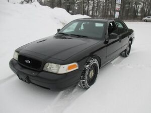 2011 Ford Crown Victoria Police Interceptor Sedan Extra Clean!