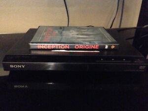 Sony DVD player with free dvd moving sale best offer